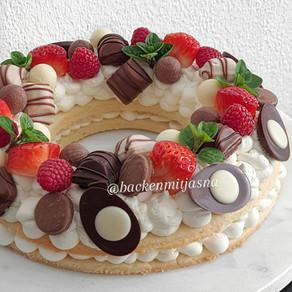 Keks torte - Number Cake