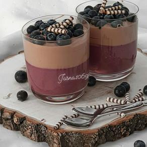 Bluberry - Joguhrt - Dessert