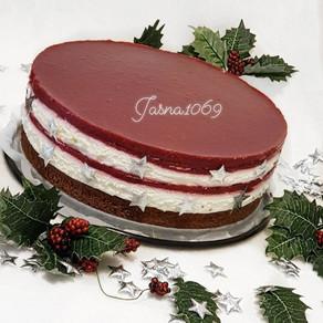 Torta  Maline u snijegu