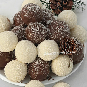 Kokos nutella balls