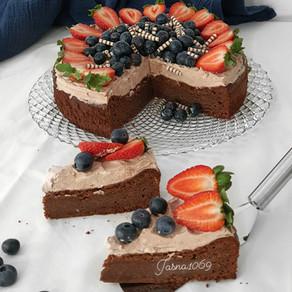 Finska cokoladna torta
