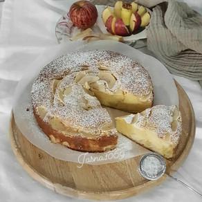 Torta sa jabukama i mascarponeom