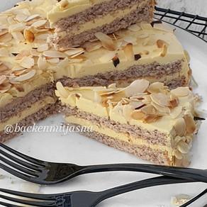 Swedish - Ikea  Almond Cake