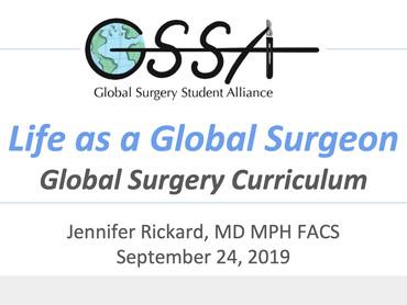 Life as a Global Surgeon