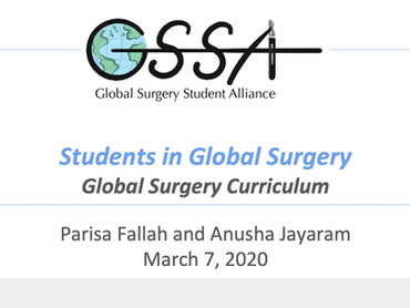 Students in Global Surgery