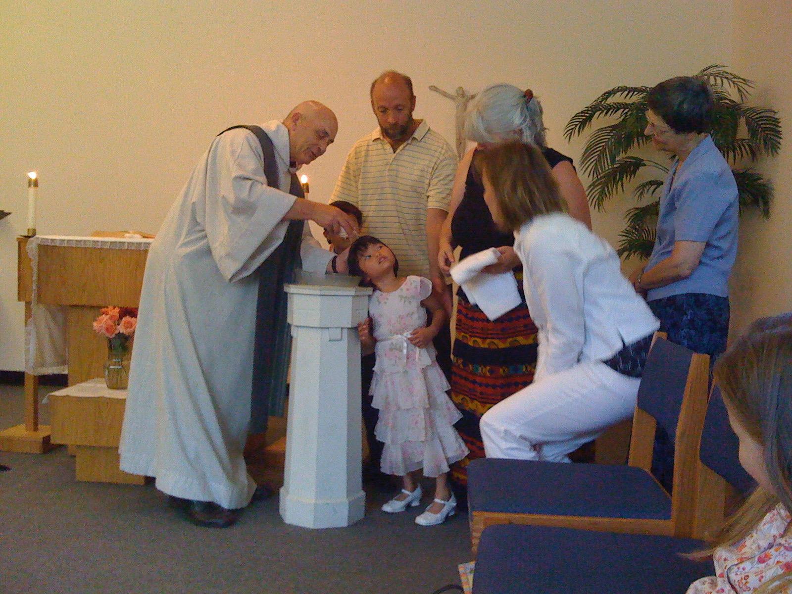 Sophia Jo Baptism