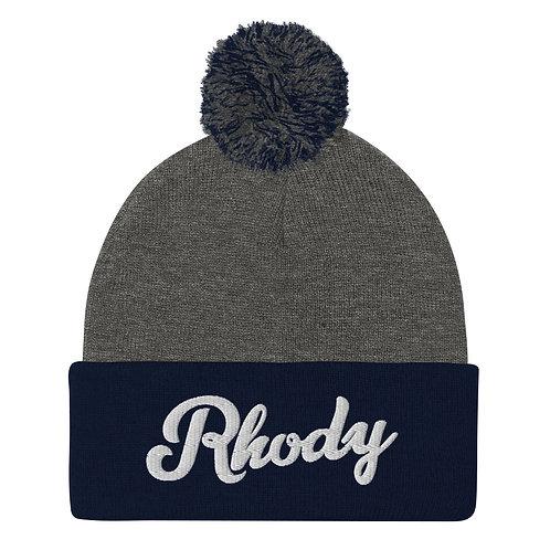RHODY | Pom-Pom Beanie