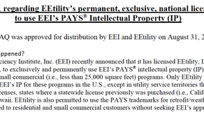 10.1.21 - New Energy Efficiency Institute and EEtility FAQ document and  MN Update