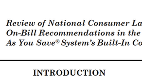 1.22.21 - New Memo on PAYS® Consumer Protections & CPUC Workshop Scheduled