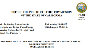 10.9.20 - CPUC Public Comments on Inclusive Financing