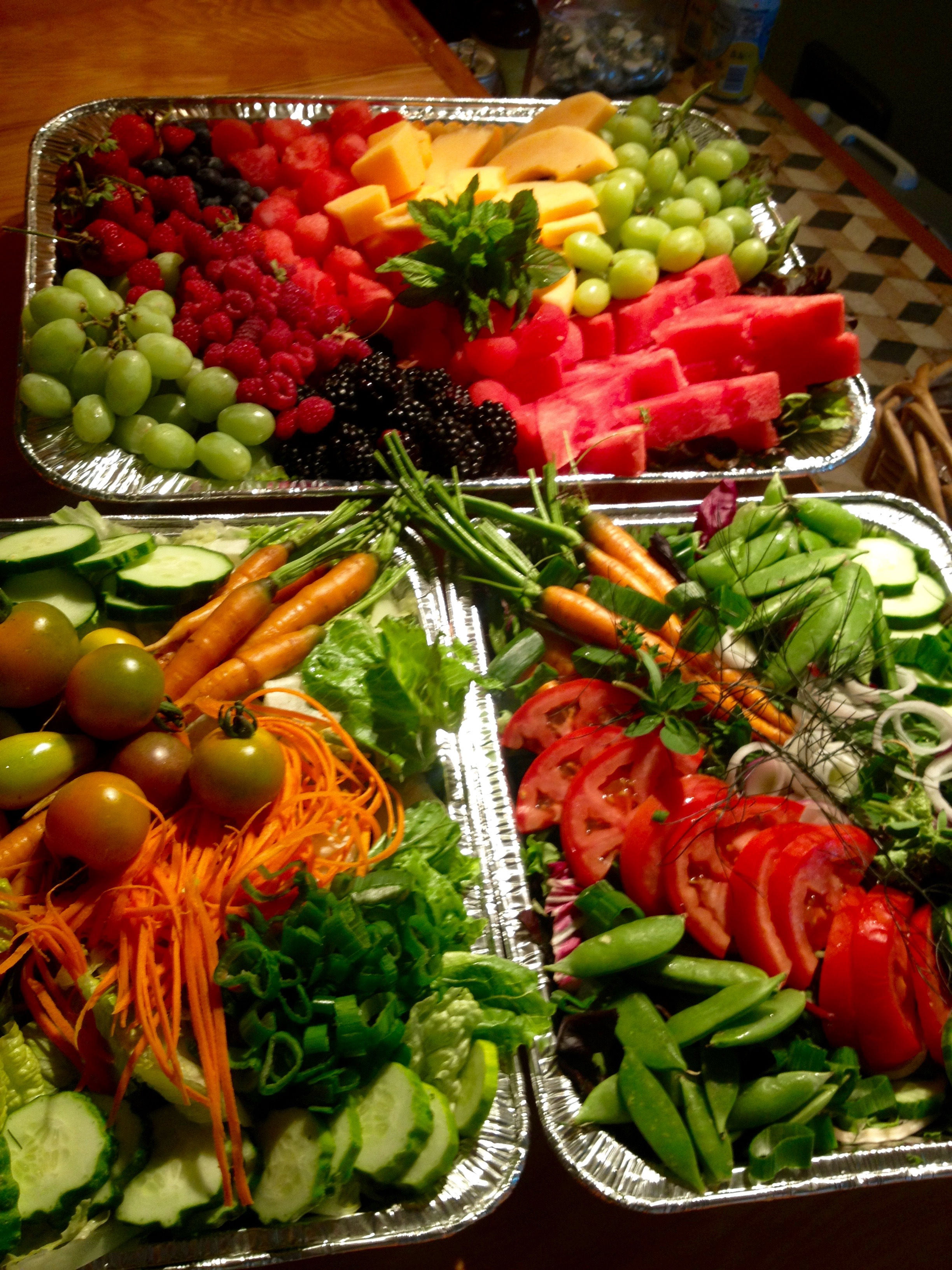 Fruit & Vegetable Platter (Pick UP)