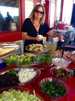 Mexican Wedding Buffet