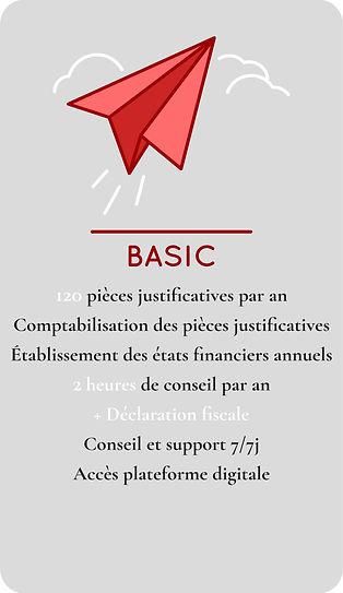 Forfait Comptabilité BASIC FIDUNEO_