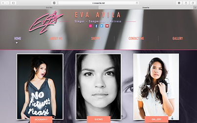 Eva Avila Website
