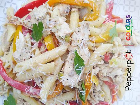 Recipe: Rasta Pasta