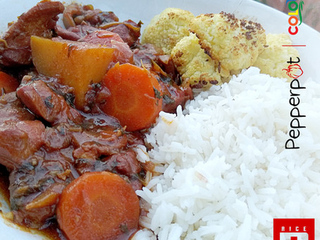 Rice 'N' Roti Recipes: Stew Chicken