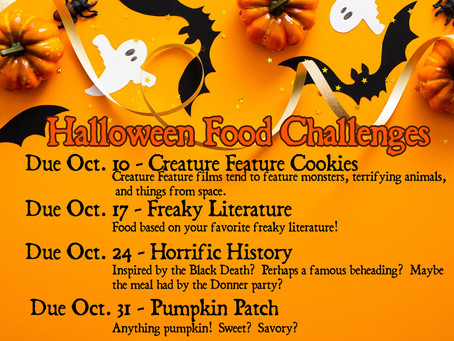Halloween Food Challenge