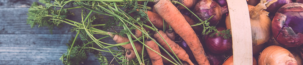 Корзина органических овощей