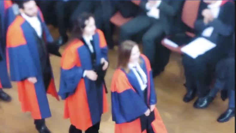 Oxford PhD graduation