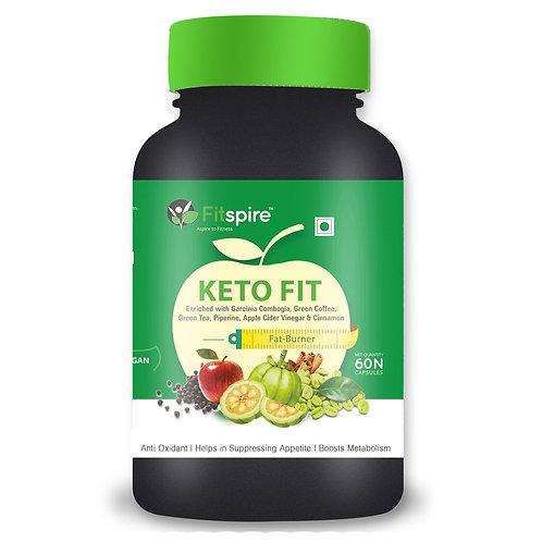 FITSPIRE KETO FIT | FAT BURNER |METABOLISM BOOSTER