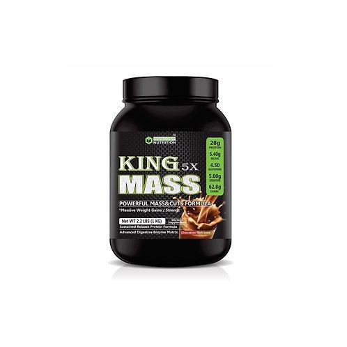 KING 5X Mass isoscoop Nutrition