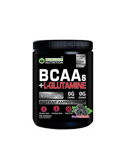 BCAA + L-Glutamine isoscoop Nutrition