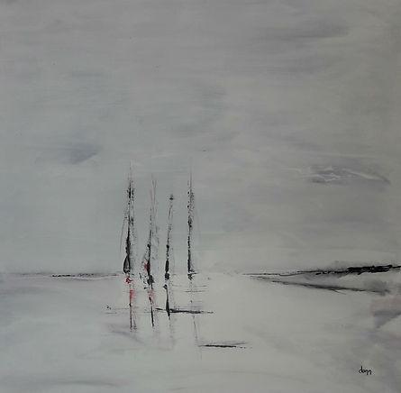 """Oeuvre de Daniel AUBERT alias Dann intitulée """"Tout simplement"""""""