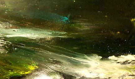 """toile intitulée """"lueur éternelle"""""""