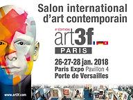 affiche du salon Art3f Paris