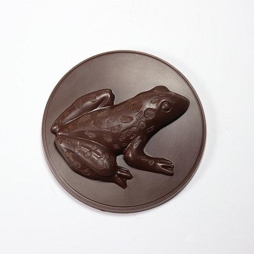 Leopard Frog Medallion