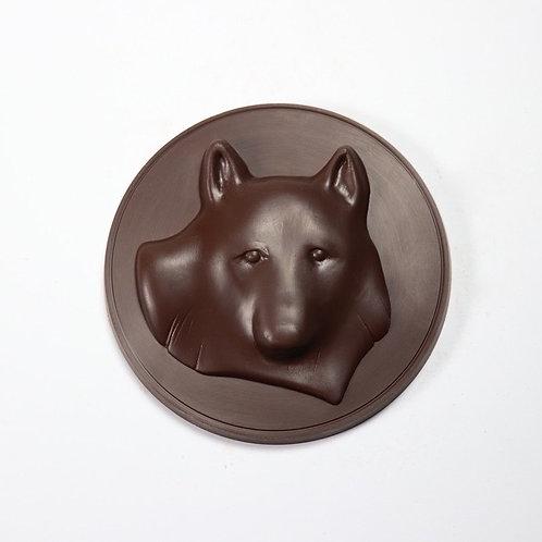 Algonquin Wolf Medallion