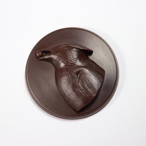 Cedar Waxwing Medallion