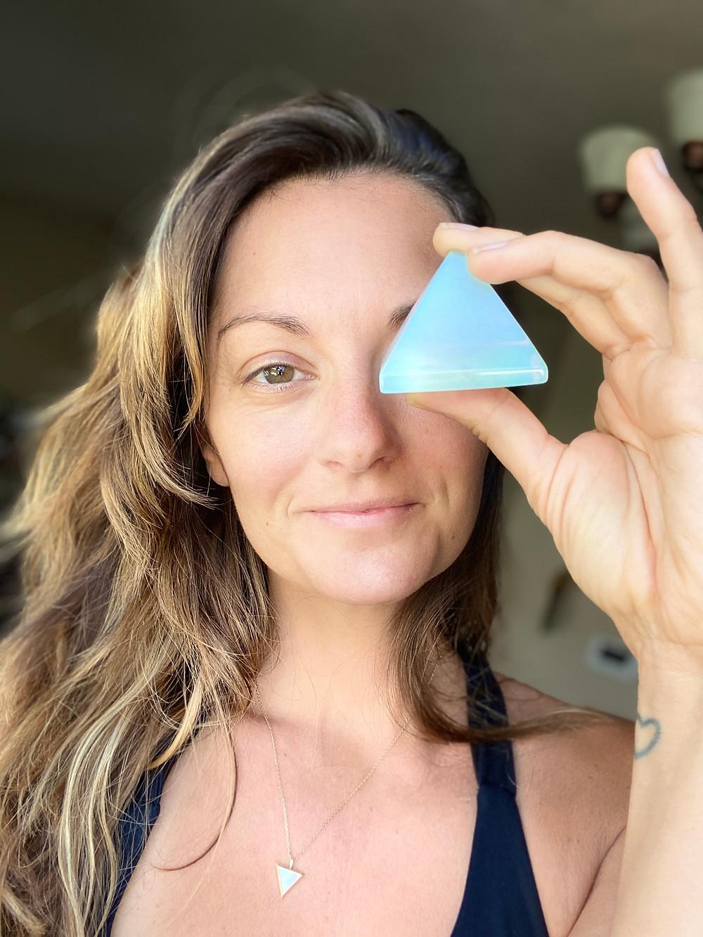 Emily Drew - opalite crystal