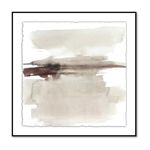 Earth Horizon II - Framed & Mounted Art