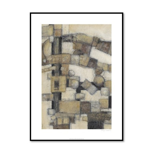 Lost Canyon I - Framed & Mounted Art