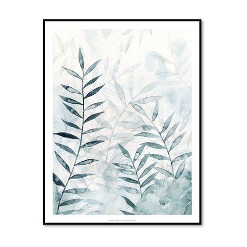Bamboo Whisper I - Framed & Mounted Art