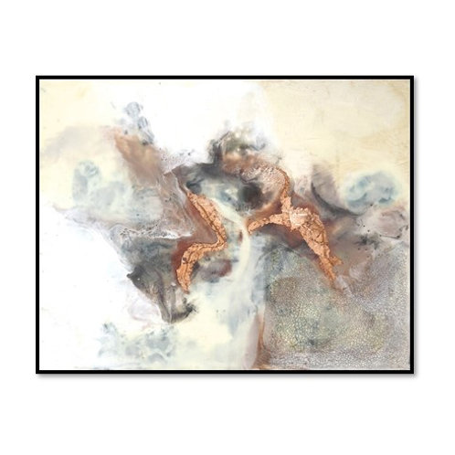 Copper Canyon II - Framed & Mounted Art