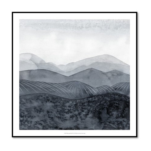 Blustering Valley II - Framed & Mounted Art