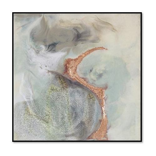 Copper River II - Framed & Mounted Art