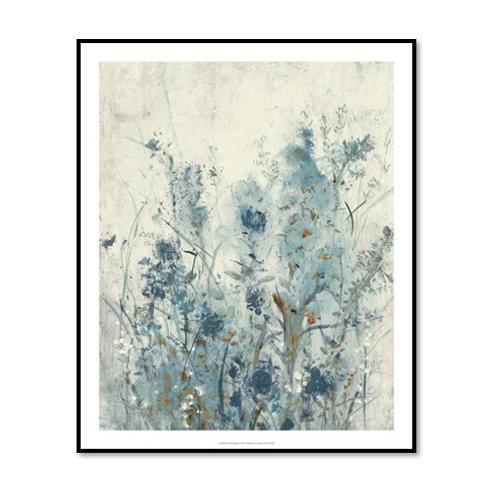 Blue Spring II - Framed & Mounted Art