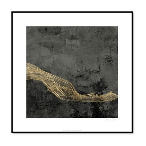 Woven Matrix III - Framed & Mounted Art
