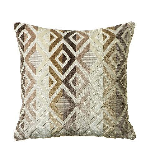 Matrix 58x58cm Cushion, Natural