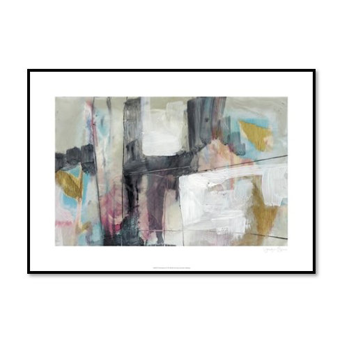 Pastel Kinesis I - Framed & Mounted Art
