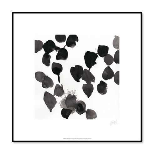 Monochrome Gestures II - Framed & Mounted Art