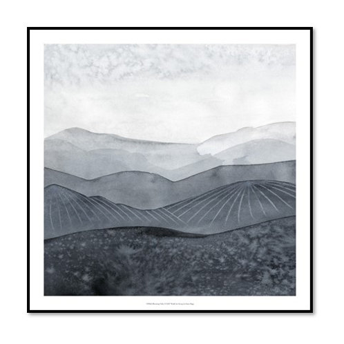 Blustering Valley I - Framed & Mounted Art