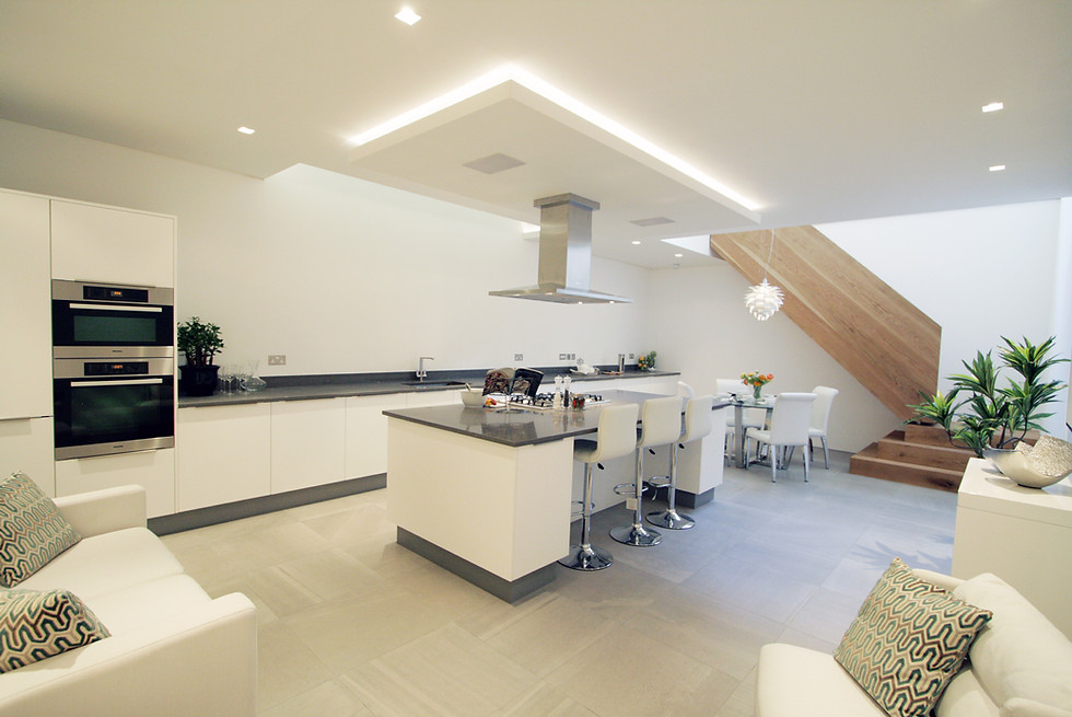 Quirky Kitchen Space Design