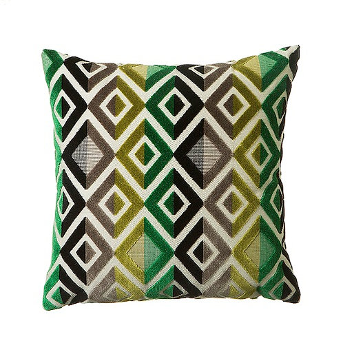 Matrix 43x43cm Cushion, Green