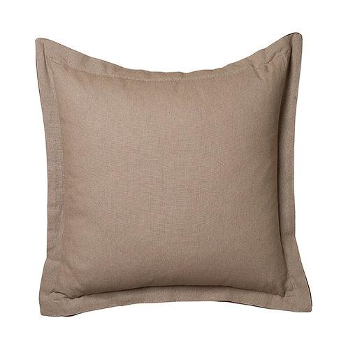 Hamilton Linen 44×44+3cm Cushion, Taupe