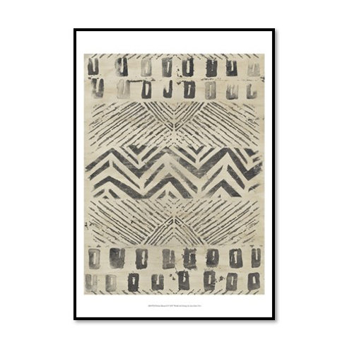 Pattern Bazaar II - Framed & Mounted Art