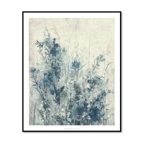 Blue Spring I - Framed & Mounted Art